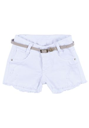 Short-Sarja-Infantil-Para-Menina---Branco