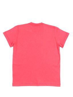 Camiseta-Manga-Curta-Infantil-Para-Menino-Justice-League-Vermelho