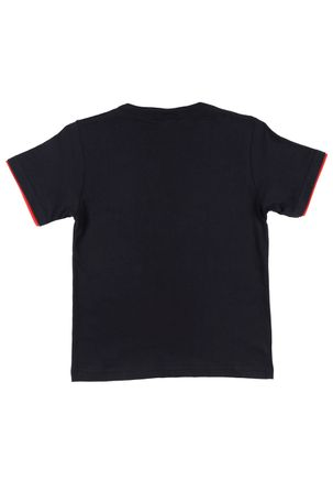 Camiseta-Manga-Curta-Angry-Birds-Infantil-para-Menino---Preto