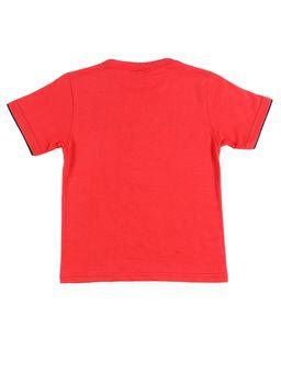 Camiseta-Manga-Curta-Angry-Birds-Infantil-para-Menino---Vermelho