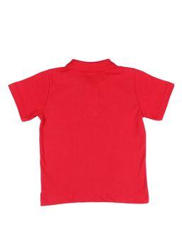 Polo-Manga-Curta-Infantil-para-Menino---Vermelho