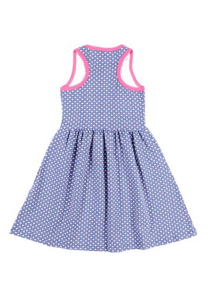 Vestido-Juvenil-Para-Menina---Azul
