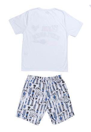 Pijama-Curto-Infanto-Juvenil-Para-Menino---Branco