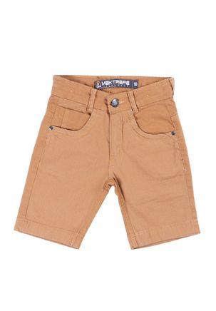 Bermuda-Jeans-Juvenil-Para-Menino---Marrom
