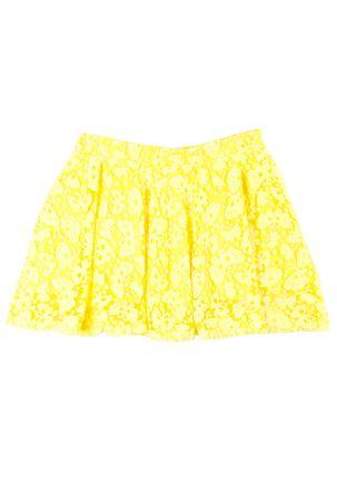 Saia-Juvenil-Para-Menina---Amarelo