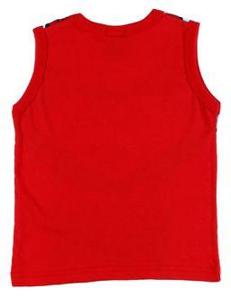 Camiseta-Regata-Justice-League-Infantil-Para-Menino---Vermelho