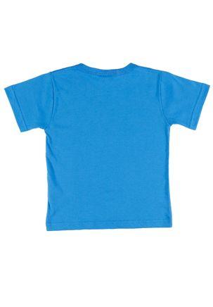 Camiseta-Manga-Curta-Dc-Super-Friends-Infantil-Para-Menino---Azul