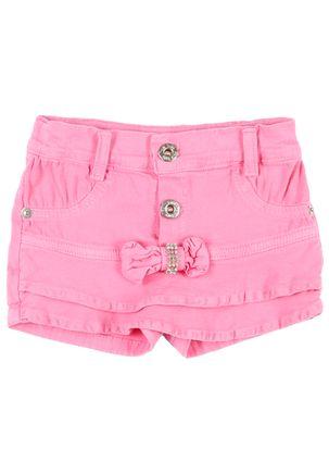 Short-Sarja-Infantil-Para-Menina---Rosa