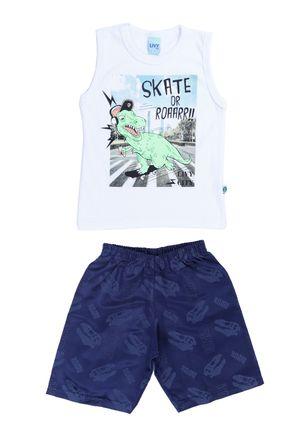 Conjunto-Infantil-Para-Menino---Branco-azul