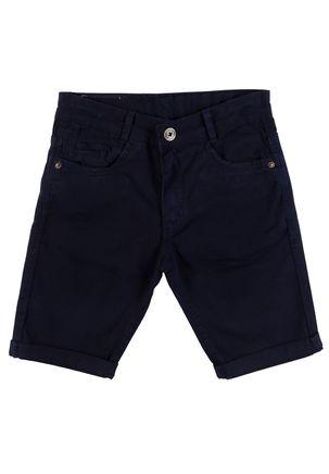 Bermuda-Sarja-Juvenil-Para-Menino---Azul-marinho