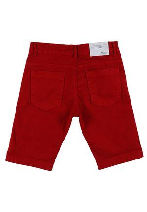 Bermuda-Sarja-Juvenil-Para-Menino---Vermelho