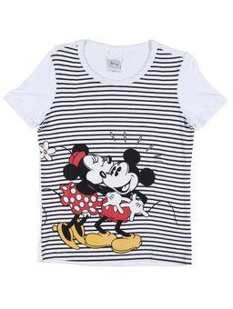 Blusa-Manga-Curta-Juvenil-Para-Menina-Disney-Branco