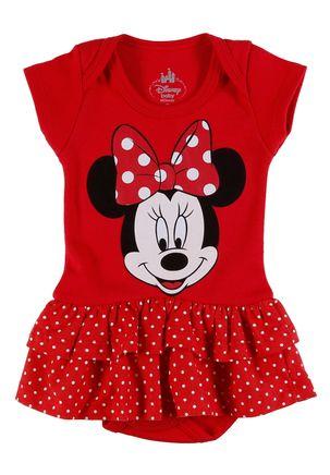 Body-Disney-Infantil-Para-Bebe-Menina---Vermelho