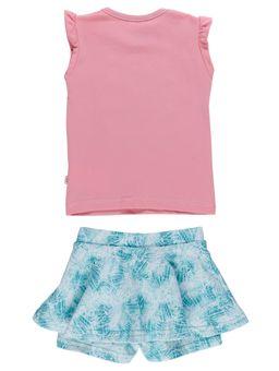 Conjunto-Infantil-Para-Bebe-Menina---Rosa-verde