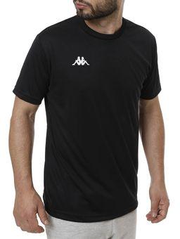 Camiseta-de-Futebol-Masculina-Kappa-Preto