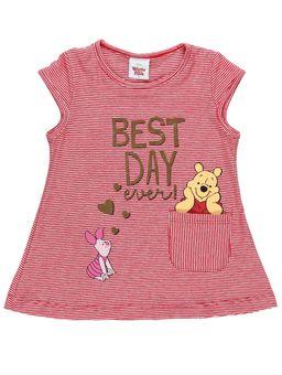 Blusa-Manga-Curta-Winnie-The-Pooh-Infantil-Para-Menina-