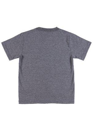 Camiseta-Manga-Curta-Spider-Man-Infantil-Para-Menino---Cinza