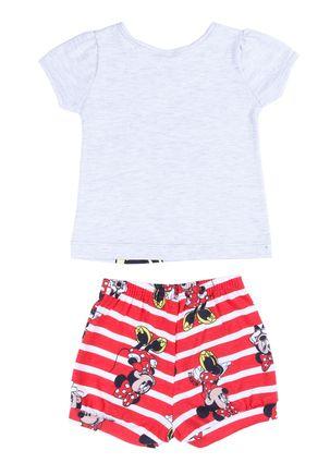 Conjunto-Disney-Baby-Infantil-Para-Bebe-Menina---Cinza-vermelho