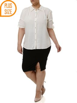 Saia-Media-Plus-Size-Feminina-Preto