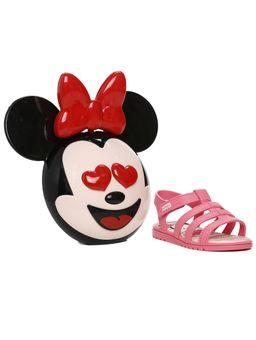 Sandalia-Mickey-e-Minnie-Infantil-Para-Bebe-Menina---Rosa