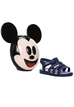 Sandalia-Para-Bebe-Menino-Masculino-Mickey-e-Minnie-Azul