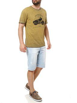 Camiseta-Manga-Curta-Masculina-Full-Amarelo