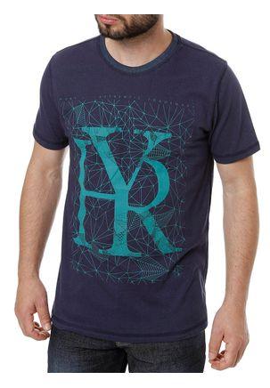 Camiseta-Manga-Curta-Reversivel-Masculina-Azul-marinho