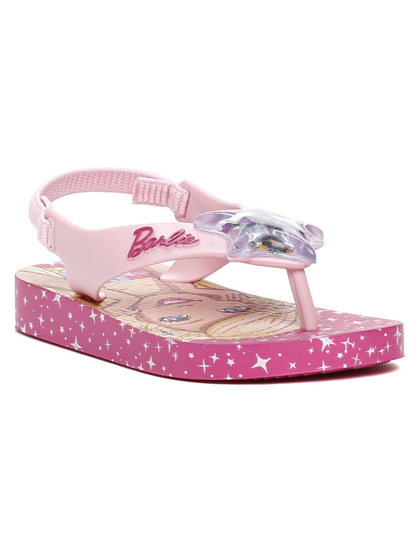 ab9ee507c Sandália Barbie Infantil Para Bebê Menina - Rosa - Lojas Pompeia
