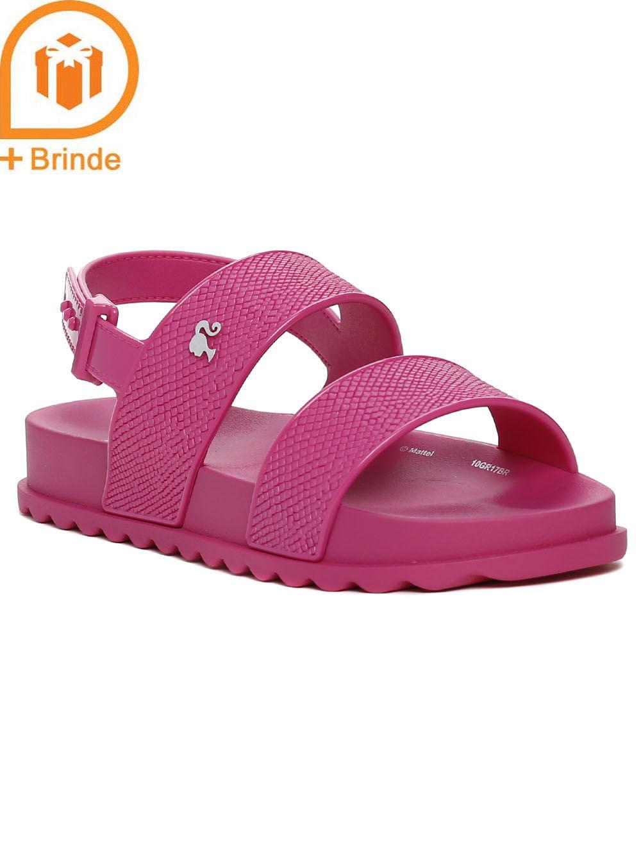 72ca6813f1 Sandália Barbie Infantil Para Menina - Rosa - Lojas Pompeia