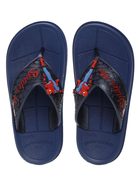 ac42803c6e Chinelo Homem Aranha Infantil Para Menino - Azul - Lojas Pompeia