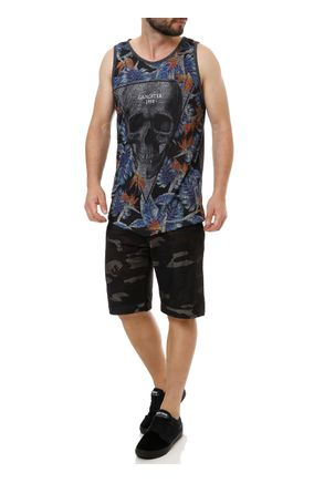 Camiseta-Regata-Masculina-Gangster-Cinza