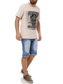 Camiseta-Manga-Curta-Masculina-Vels-Bege