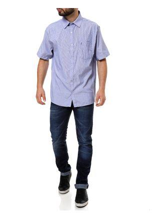 Camisa-Manga-Curta-Masculina-Azul