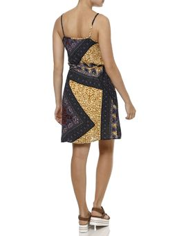Vestido-Curto-Feminino-Amarelo