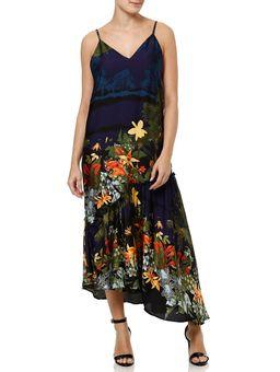 Vestido-Longo-Feminino-Autentique-Azul-marinho