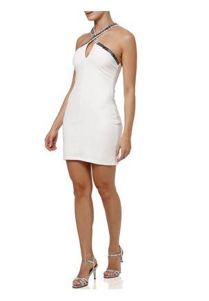 Vestido-Curto-Feminino-Autentique-Off-white