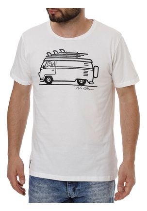 Camiseta-Manga-Curta-Masculina-No-Stress-Bege