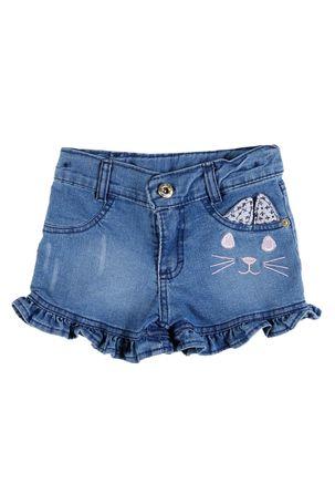 Short-Jeans-Infantil-Para-Menina