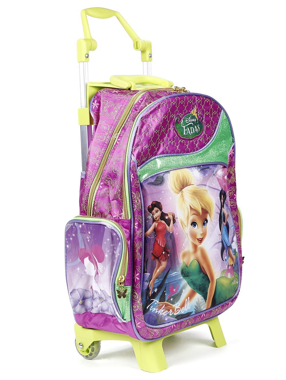 0a33b9cbe Mochila Escolar Disney Infantil para Menina - Rosa - Mochila Escolar Disney  Infantil Rosa