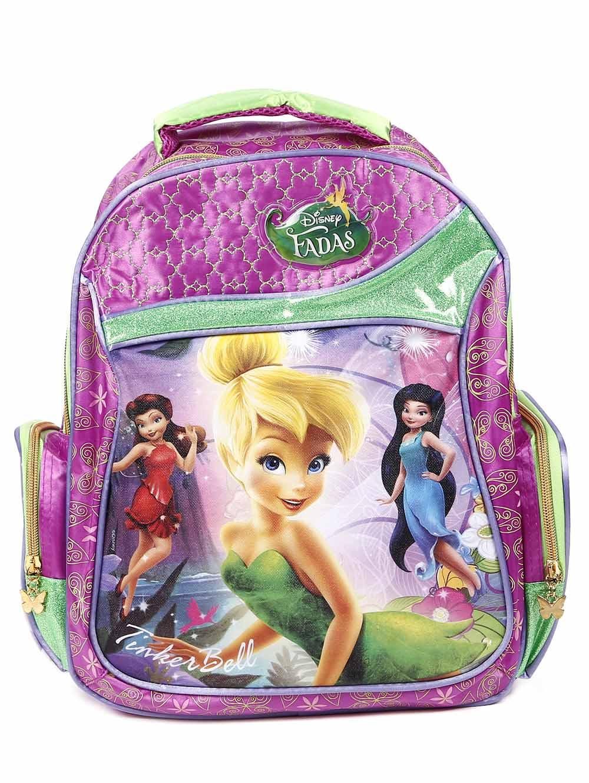 33721693f Mochila Escolar Disney Infantil para Menina - Lojas Pompeia