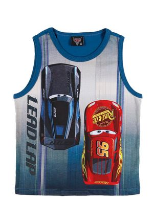 Camiseta-Regata-Disney-Carros-Infantil-Para-Menino