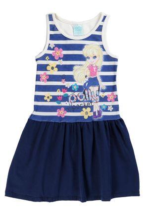 Vestido-Polly-Infantil--Para-Menina