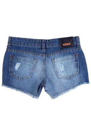 Short-Jeans-Juvenil-Para-Menina-Azul