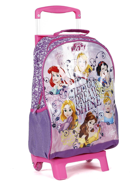 dc8c35132 Mochila Escolar Disney Infantil para Menina - Lilás - Lojas Pompeia