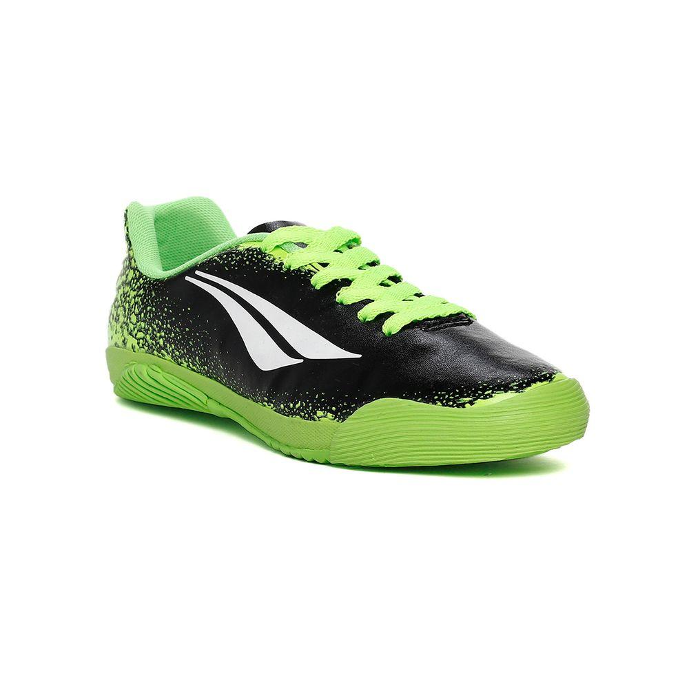 9ffcff4938 Tênis Futsal Penalty Infantil Para Menino - Verde preto - Lojas Pompeia