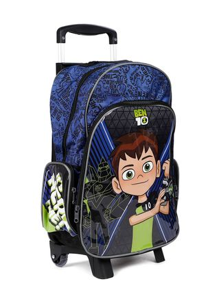 Mochila-Escolar-Ben-10-Infantil-Para-Menino---Azul-Marinho