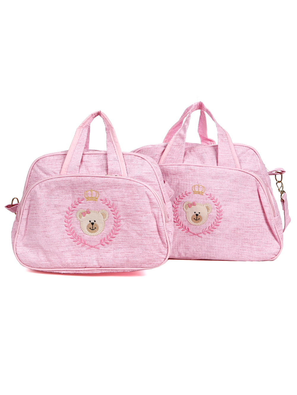 d186e3f95 Kit Bolsa Maternidade Rosa - Lojas Pompeia