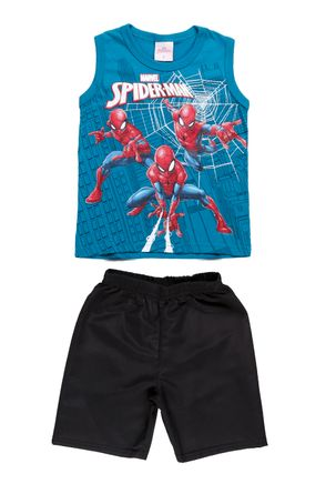 Conjunto-Spider-Man-Infantil-Para-Menino---Verde-preto-1