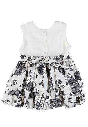 Vestido-Infantil-Para-Menina---Bege-preto-2