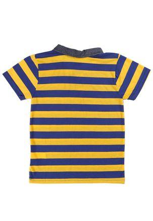 Camisa-Polo-Infantil-Para-Menino---Amarelo-6